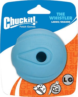 Chuckit! The Whistler Ball, Color Varies, Large