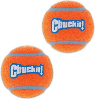 Chuckit! Tennis Ball, Small, 2-pk