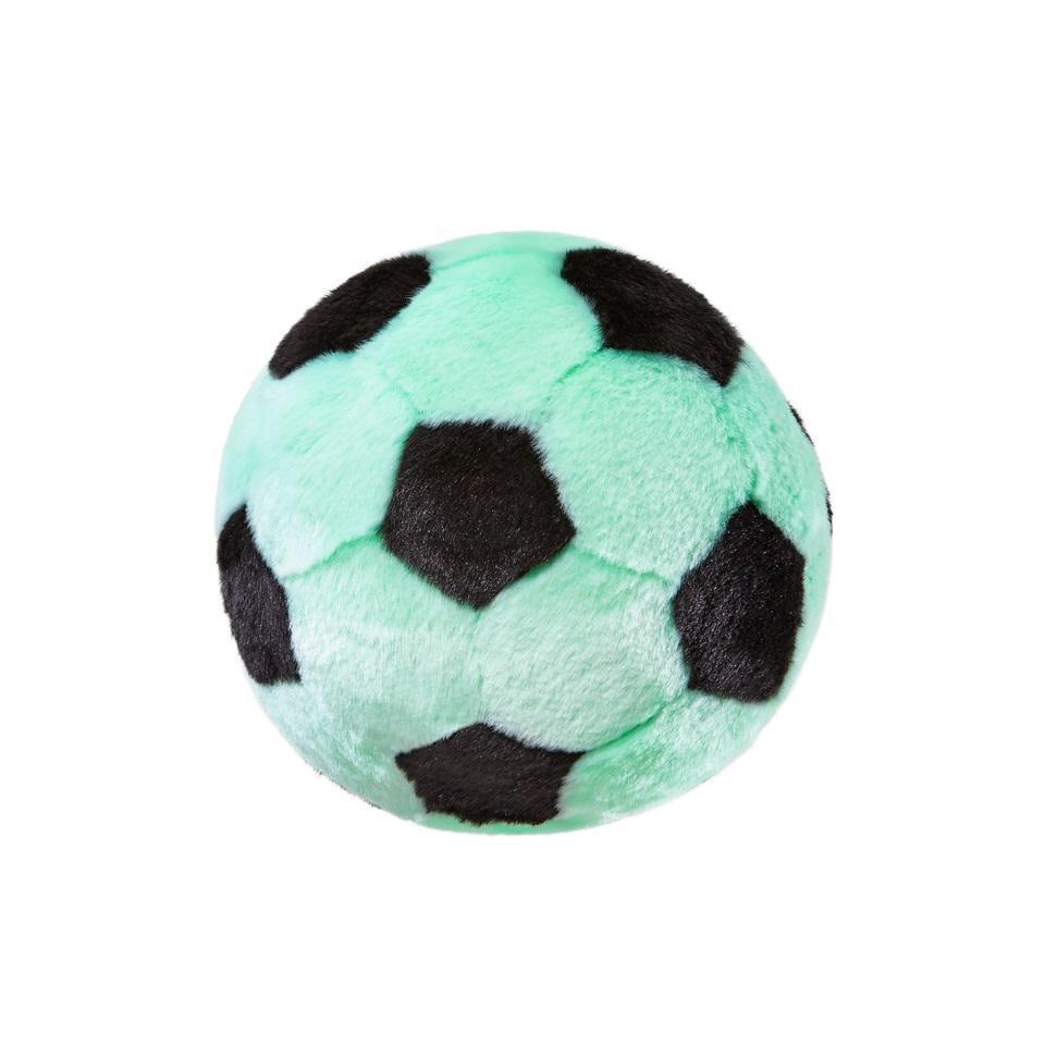 Fluff & Tuff Soccer Ball Dog Toy, Mint, Large