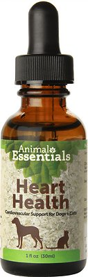 Animal Essentials Heart Health Cardiovascular Support Dog & Cat Supplement, 1-oz bottle