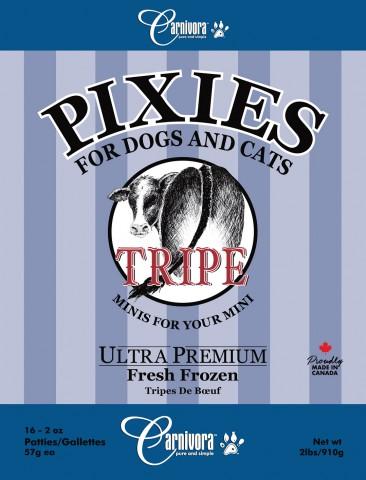 Carnivora Pixie Tripe Diet Frozen Cat & Dog Food, 2-lb