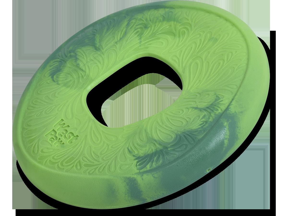 West Paw Sailz Dog Toy, Emerald, Large