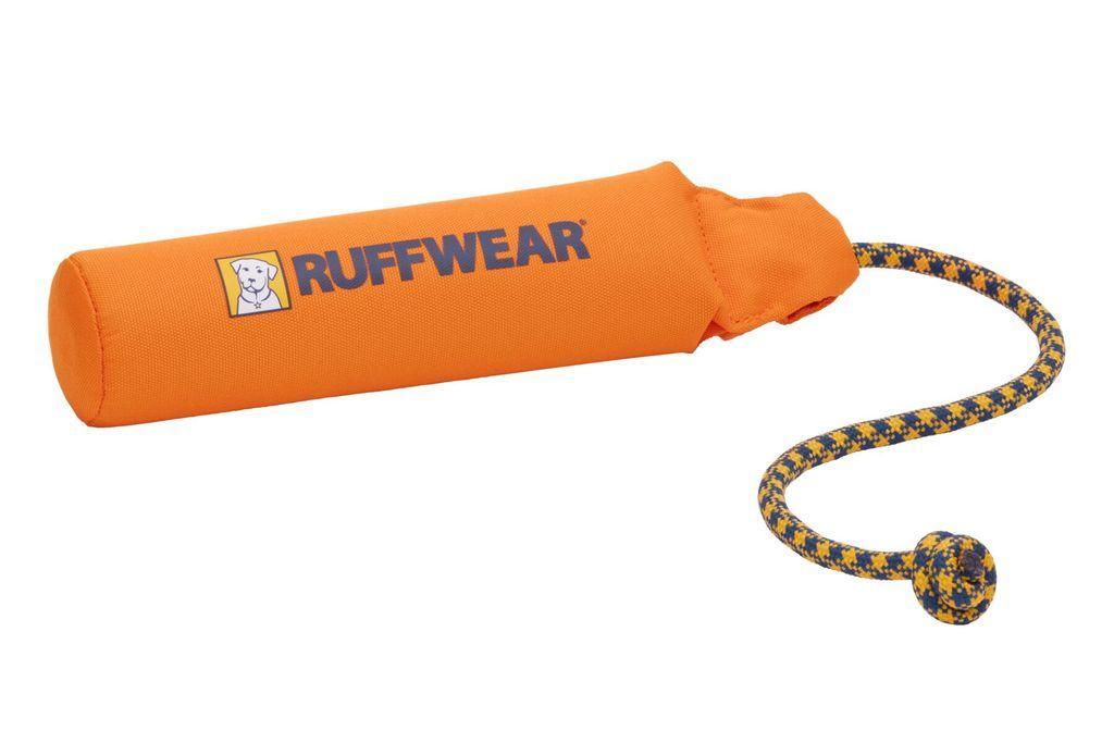 Ruffwear Lunker Floating Throw Dog Toy, Campfire Orange, Medium