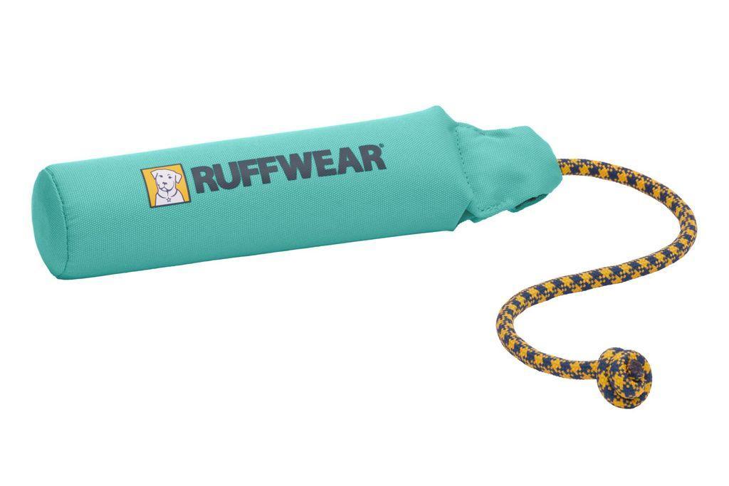 Ruffwear Lunker Floating Throw Dog Toy, Aurora Teal, Medium