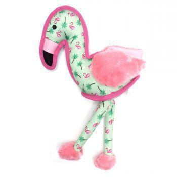 The Worthy Dog Flamingo Dog Toy, Small