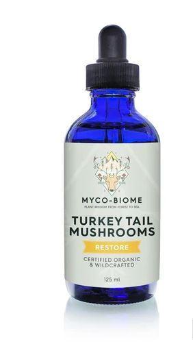 Adored Beast Myco-Biome Turkey Tail Mushrooms Dog & Cat Supplement, 125-mL