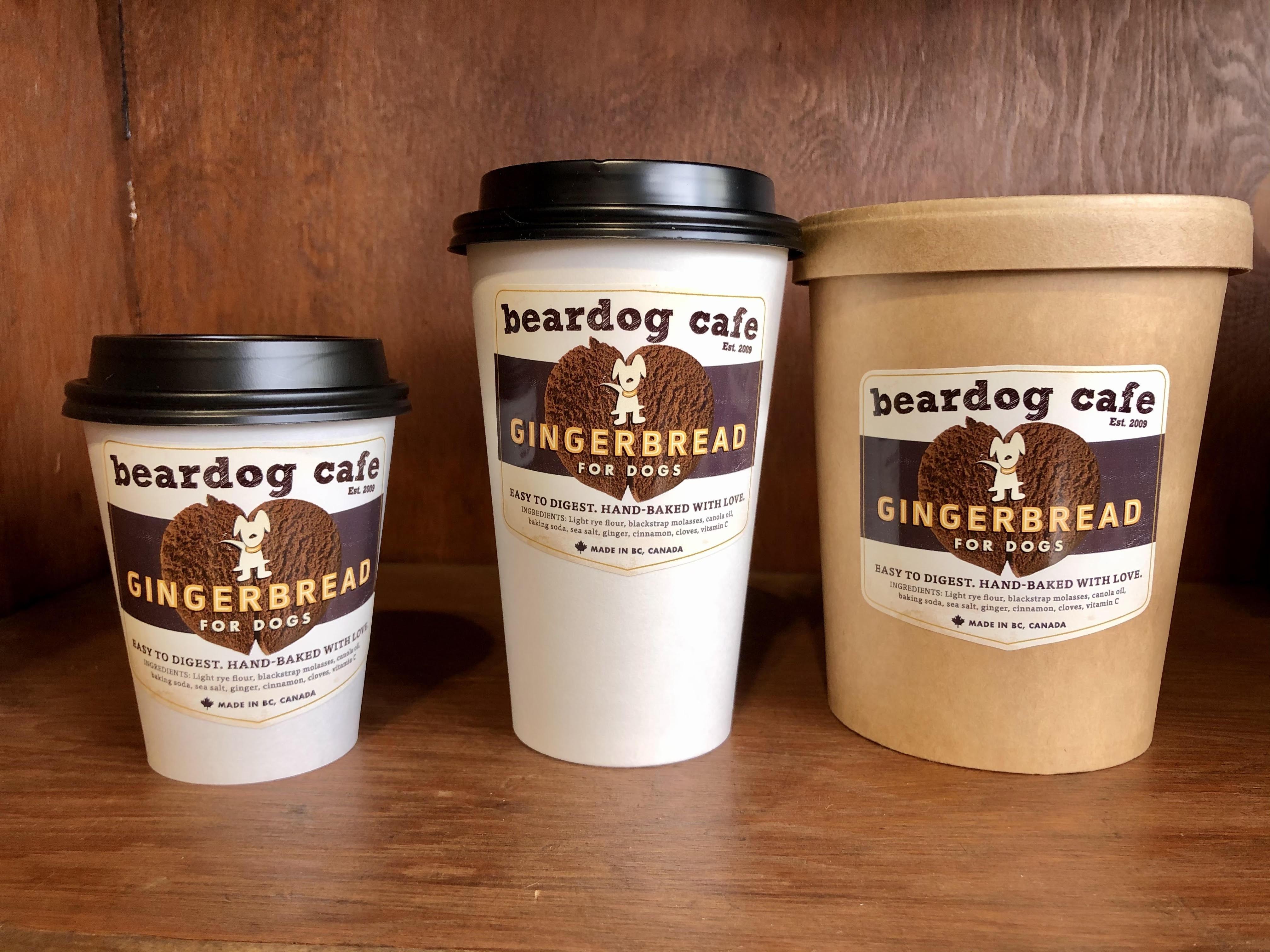 Beardog Cafe Pumpkin Gingerbread Cookies Dog Treats, 8-oz
