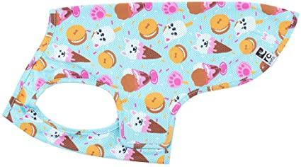 RC Pet Products Zephyr Cooling Dog Vest, Ice Cream Image