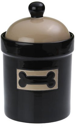 PetRageous Designs City Pets Bone Pet Treat Jar, 9.5-in tall