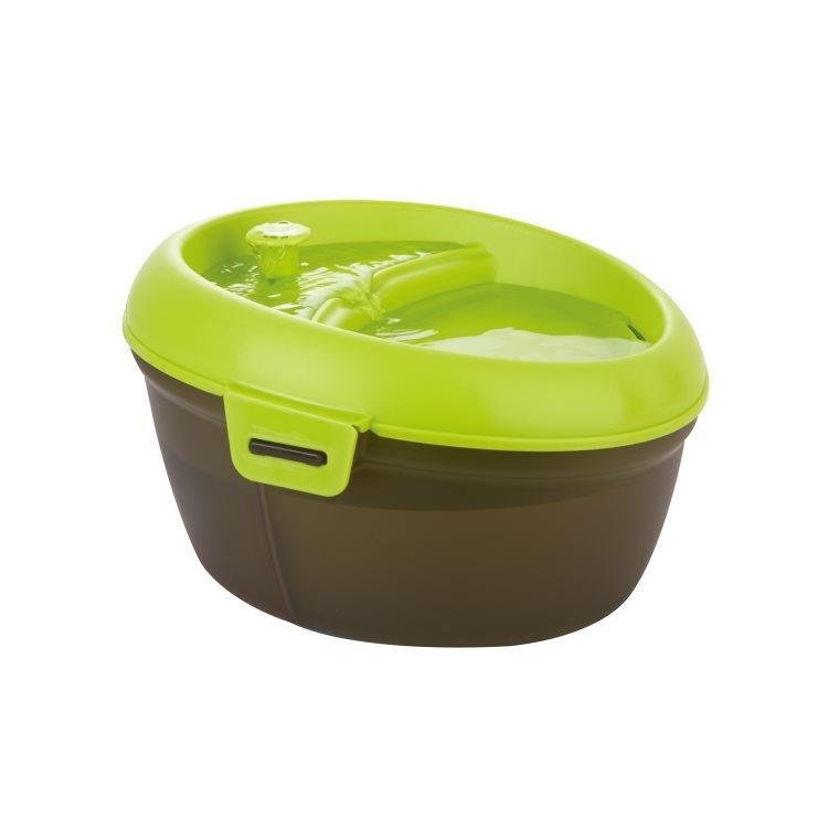 Dog H2O Pet Drinking Fountain, Green Image