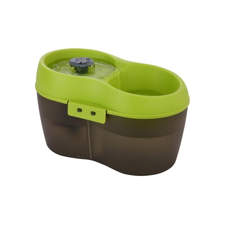Cat H2O Pet Drinking Fountain, Green Image