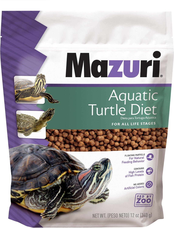 Mazuri Aquatic Turtle Food, 12-oz
