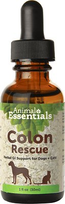 Animal Essentials Colon Rescue Herbal GI Support Dog & Cat Supplement, 1-oz bottle