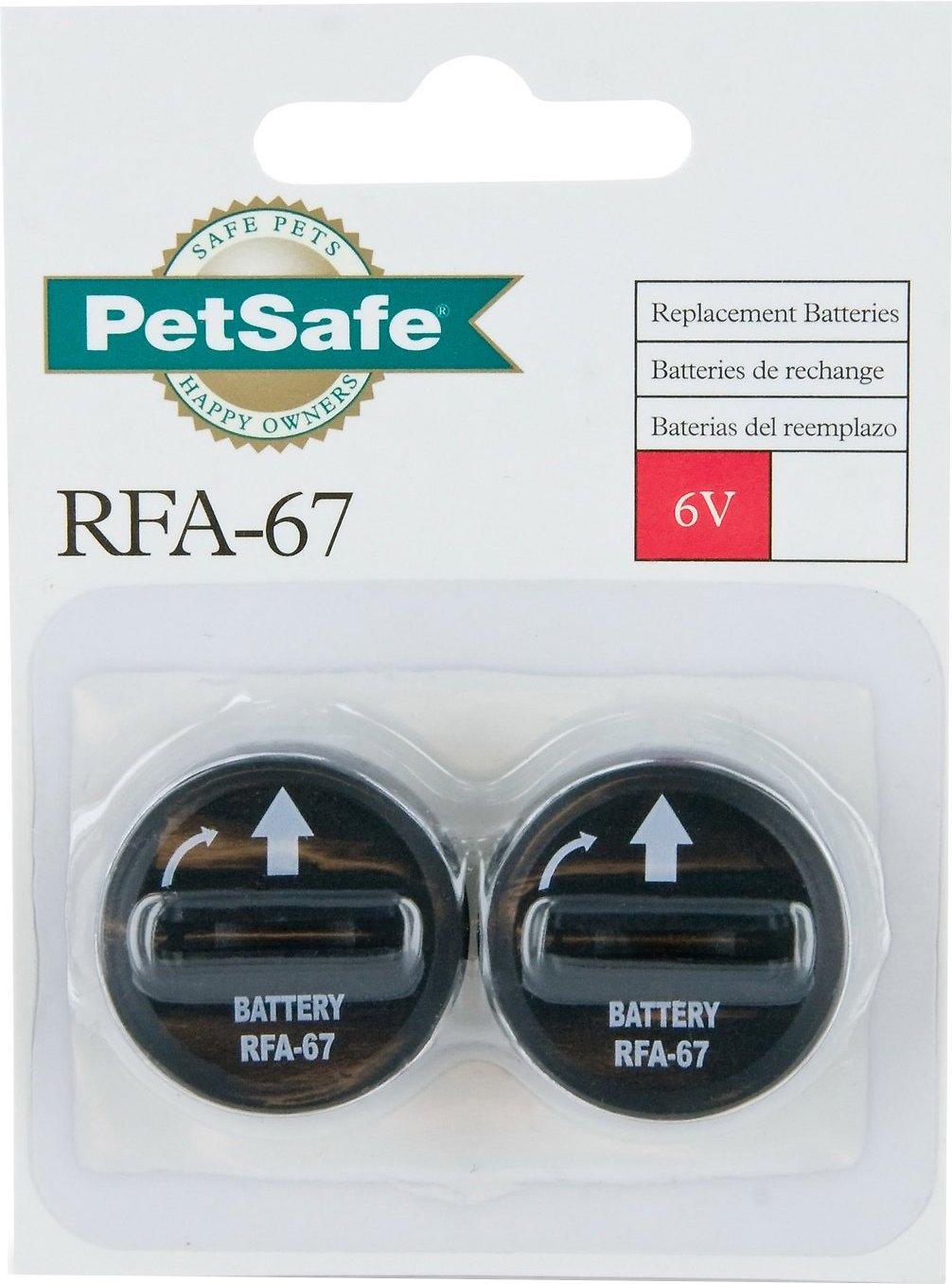 PetSafe 6-Volt RFA-67D Replacement Batteries, 2 pack