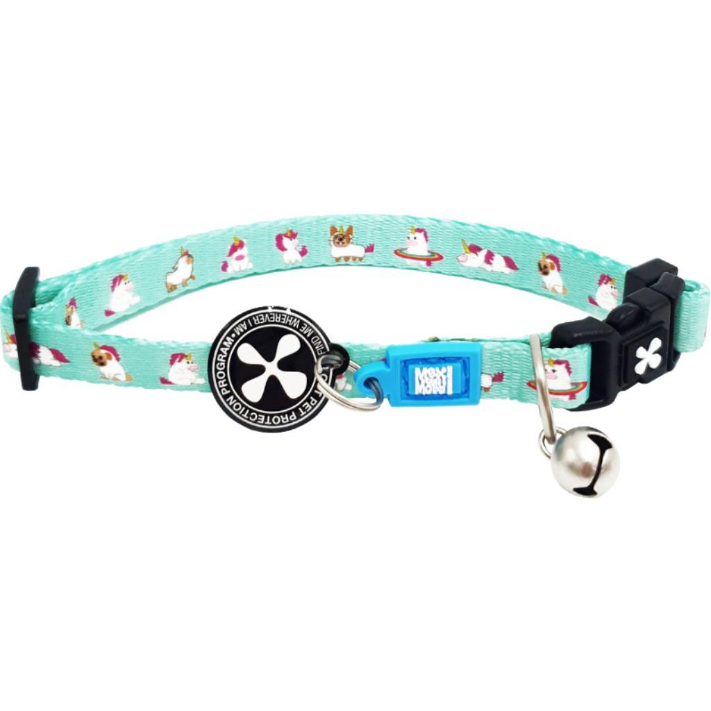 Max & Molly Smart ID Cat Collar, Unicorn Image