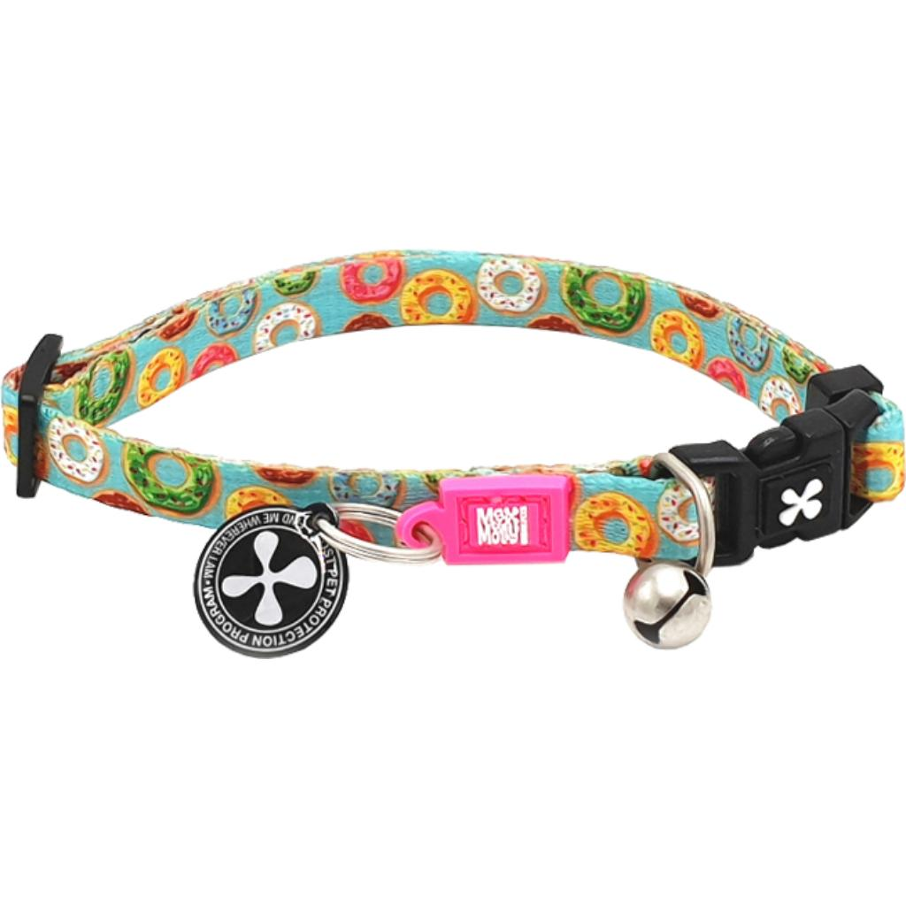 Max & Molly Smart ID Cat Collar, Donuts Image