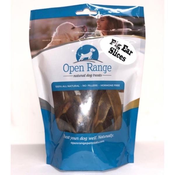 Open Range Pig Ear Slices Dog Treats, 125-gram