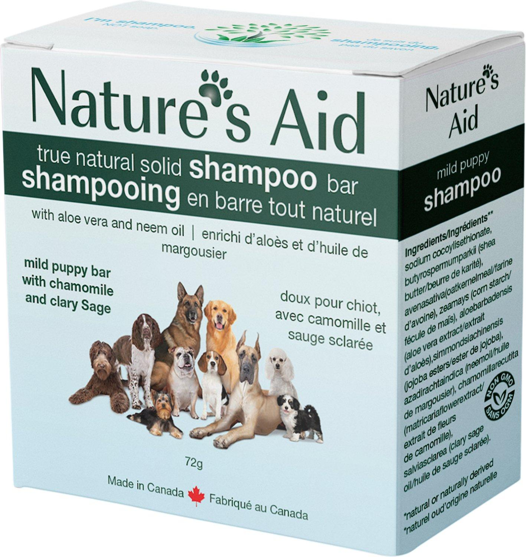 Nature's Aid Mild Puppy Dog Shampoo Bar