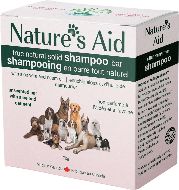 Nature's Aid Ultra-Sensitive Dog Shampoo Bar