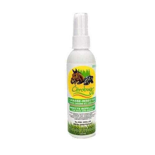 Citrobug Natural Insect Repellent for Dogs & Horses, 125-mL