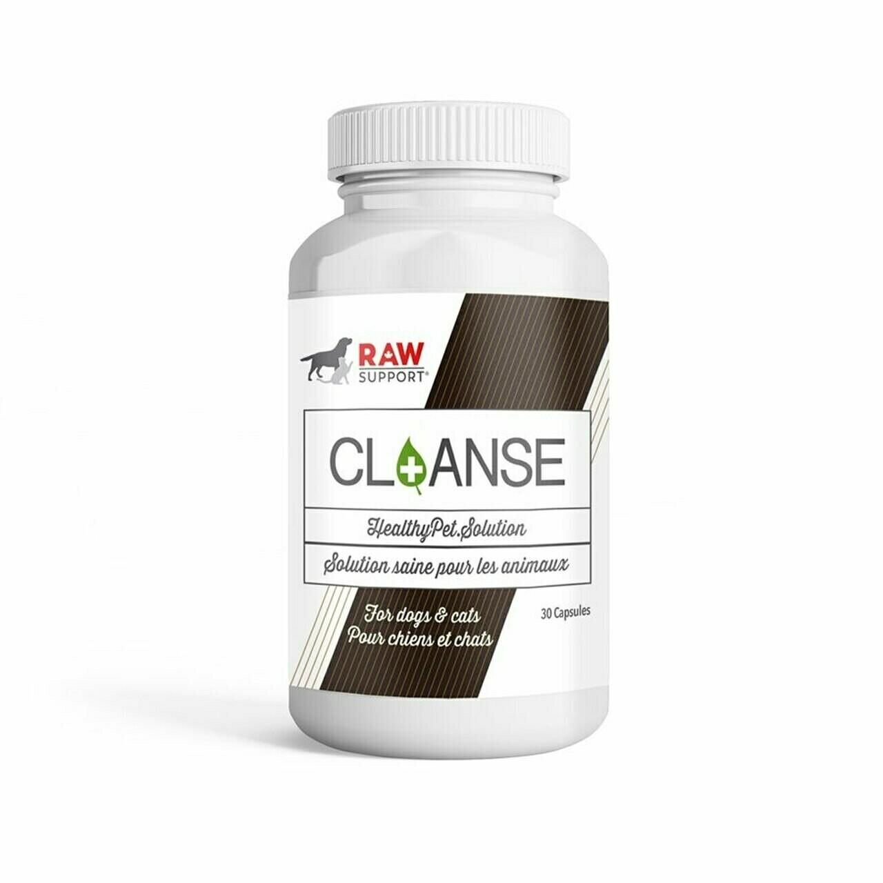 Raw Support CL+ANSE Pet Supplement, 30-count
