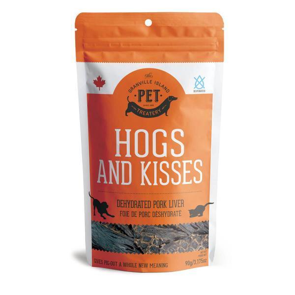 Granville Island Pet Treatery Pork Liver Dehydrated Dog Treats Image