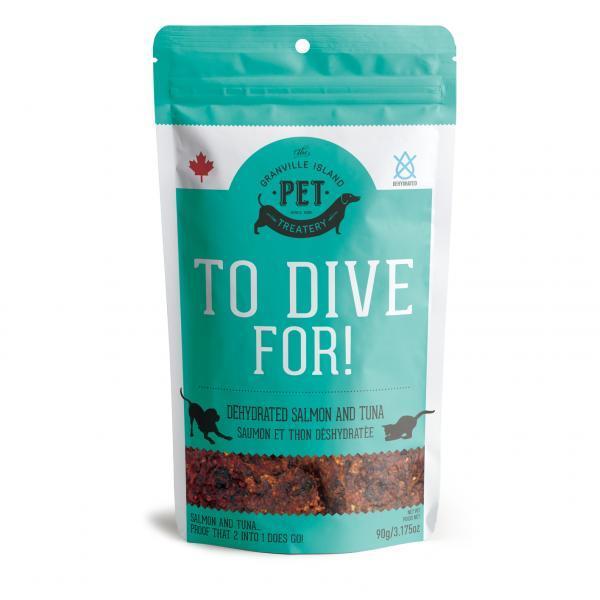 Granville Island Pet Treatery Wild Salmon & Tuna Dehydrated Dog Treats, 90-gram
