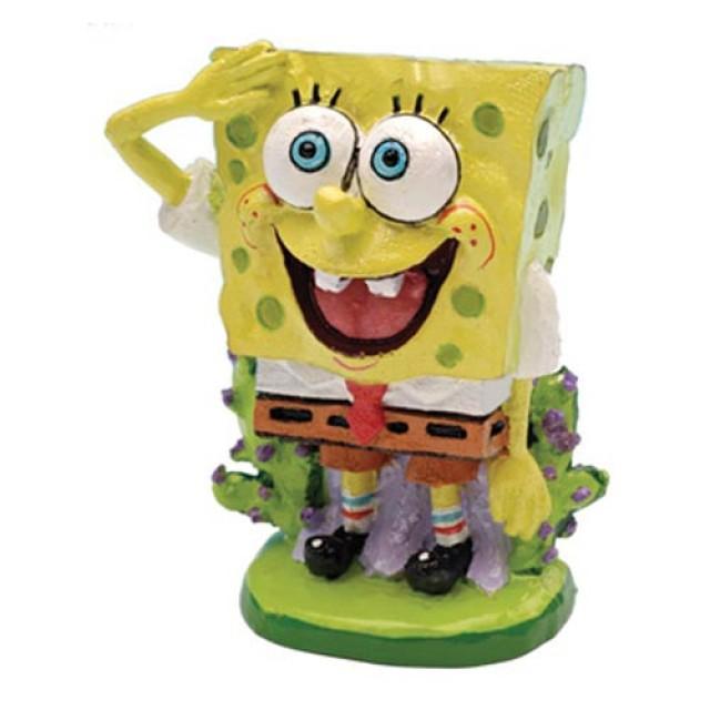 Penn-Plax SpongeBob SquarePants Aquarium Ornament Image