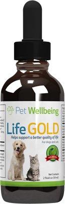 Pet Wellbeing Life Gold Immune System Support Dog Supplement, 2-oz bottle