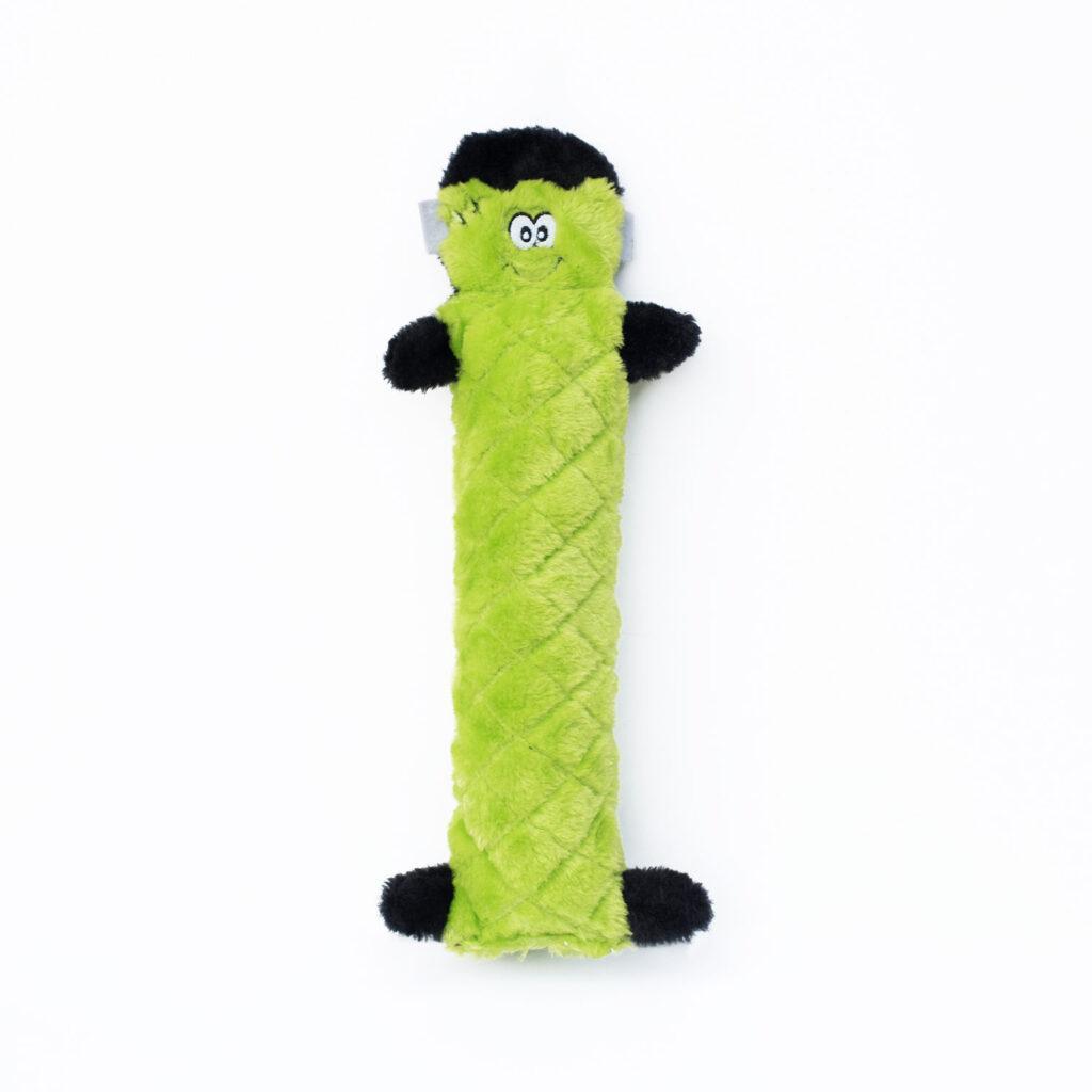 ZippyPaws Halloween Jigglerz Frankenstein's Monster Dog Toy