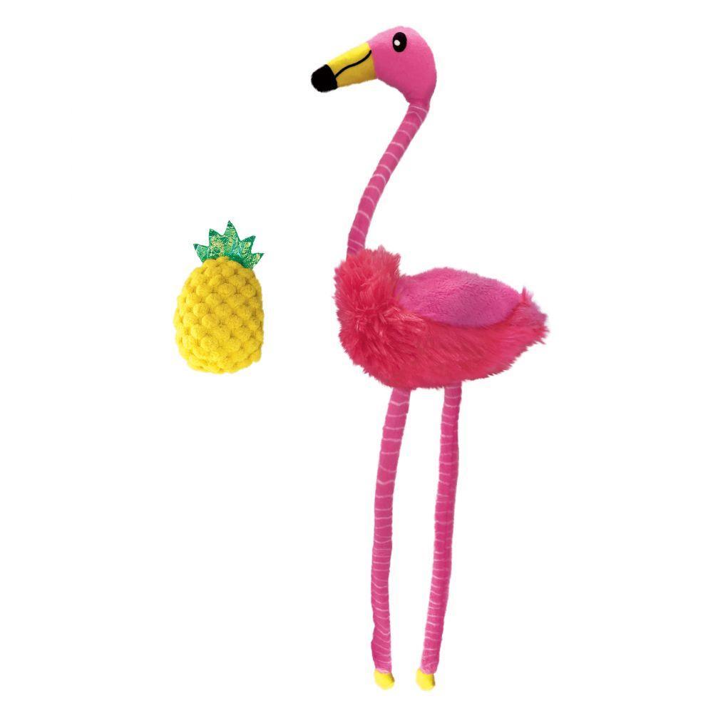 KONG Tropics Flamingo Cat Toy, 2-pk (Size: 2-pk) Image