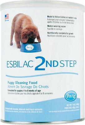 PetAg Esbilac 2nd Step Puppy Weaning Food, 14-oz can