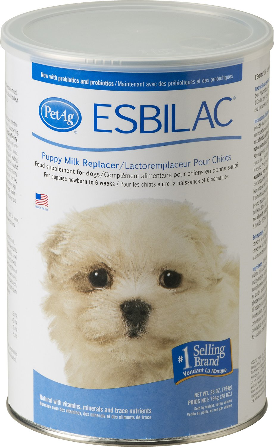 PetAg Esbilac Puppy Milk Replacer Powder Image