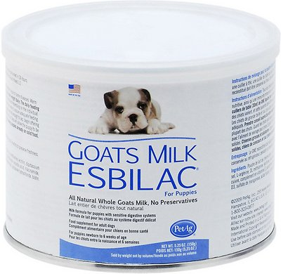 PetAg Goat's Milk Esbilac Puppy Powder, 5.25-oz can