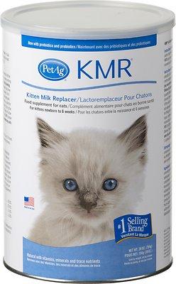 PetAg KMR Kitten Milk Replacer Powder, 28-oz can