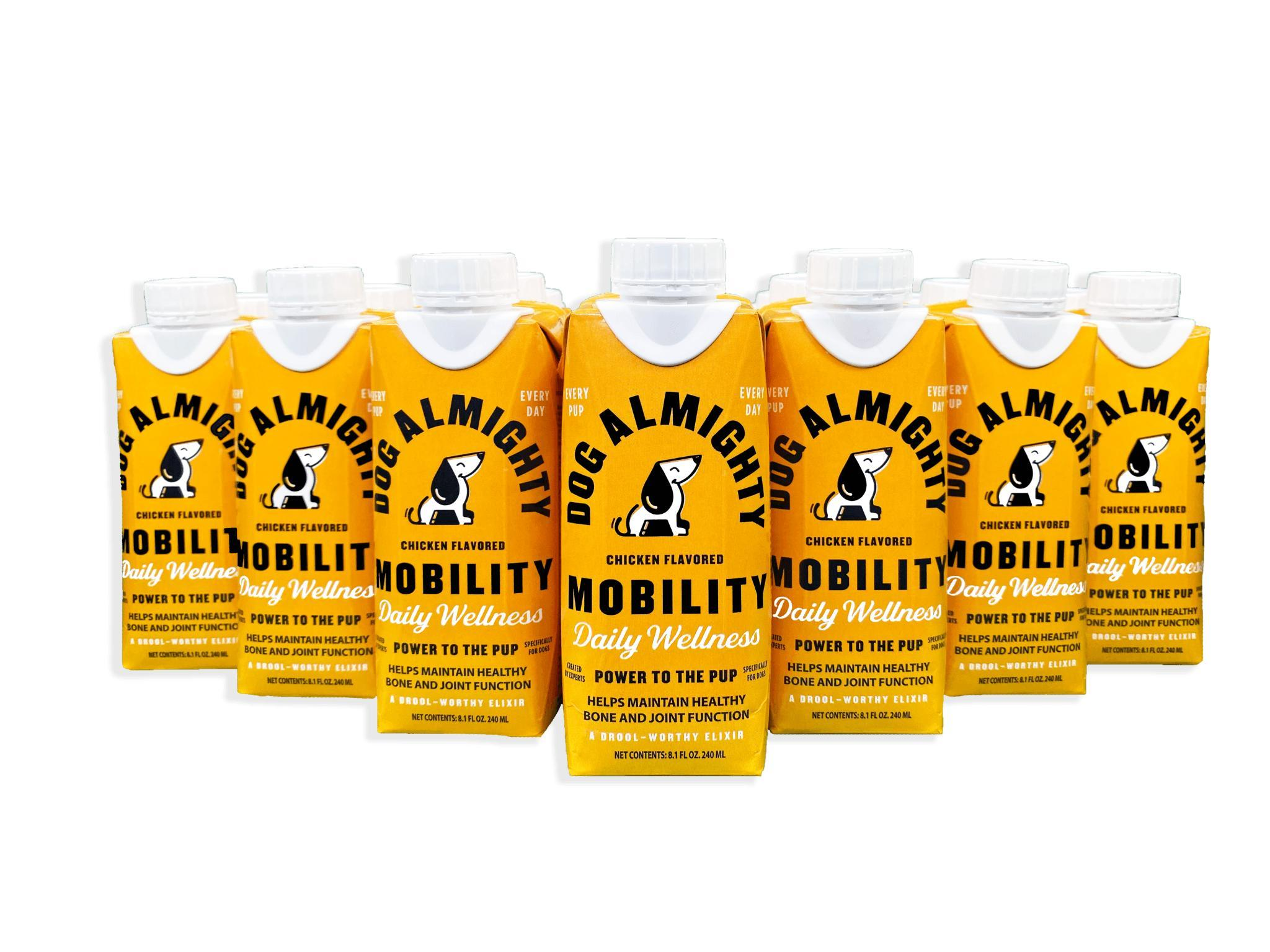 Dog Almighty Elixirs Mobility Chicken Dog Supplement Image