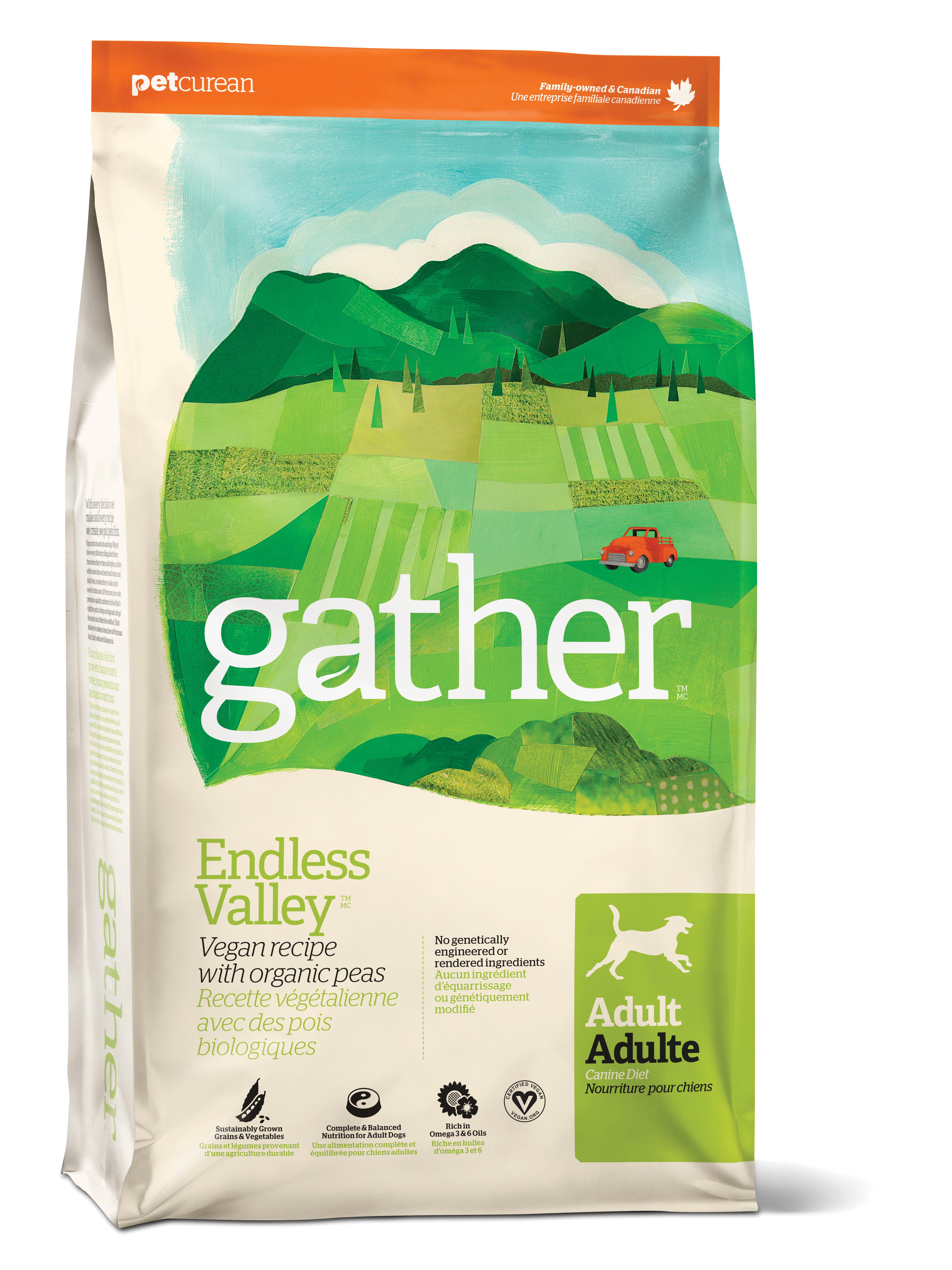 Gather Endless Valley Adult Dry Dog Food, 6-lb