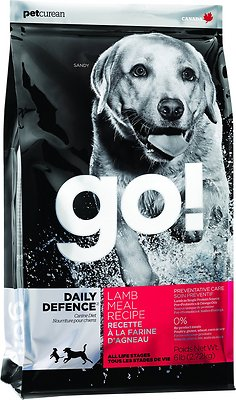 Go! Daily Defence Lamb Meal Dry Dog Food, 25-lb