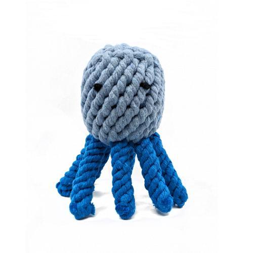 Wild Meadow Farms Plushland Wild Cotton Octopus Dog Toy
