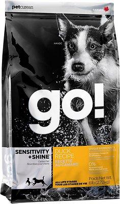 Go! Sensitivity + Shine Duck Dry Dog Food, 25-lb bag