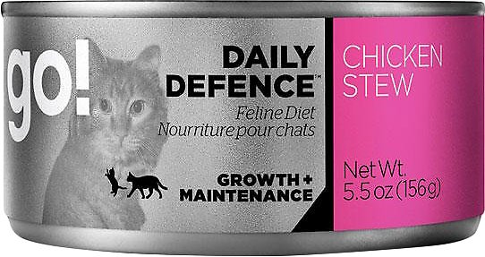 Go! Daily Defence Chicken Stew Wet Cat Food Image