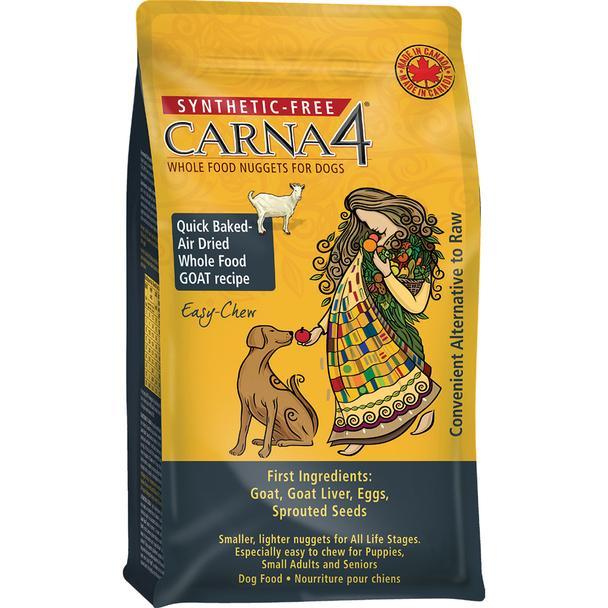 Carna4 Goat Grain-Free Air-Dried Dog Food, 2.2-lb