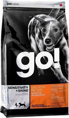 Go! Sensitivity + Shine Salmon Dry Dog Food, 25-lb