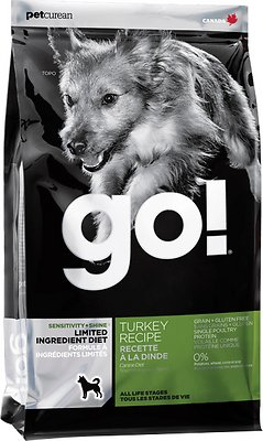 Go! Sensitivity + Shine LID Turkey Dry Dog Food, 25-lb bag