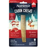 Nutrience Xmas Cabin Chews Antler Split Prime Rib Dog Treats Image