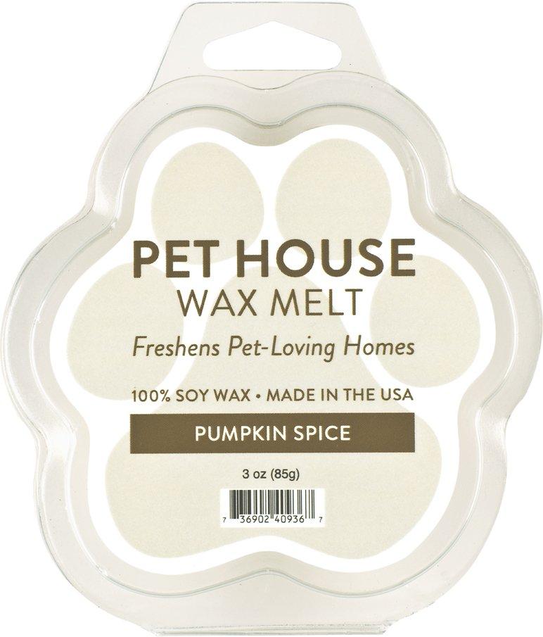 Pet House Pumpkin Spice Soy Wax Melt, 3-oz