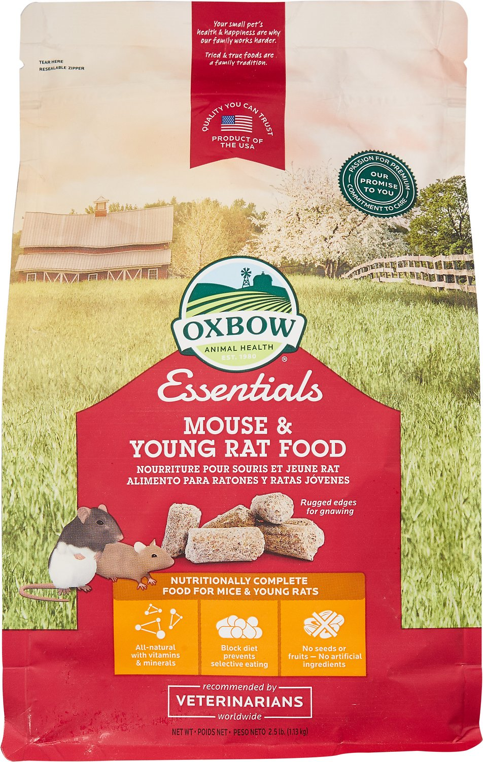 Oxbow Essentials Mouse & Young Rat Food Image