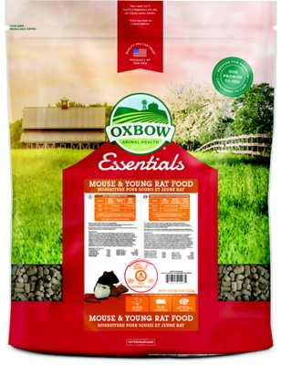 Oxbow Essentials Mouse & Young Rat Food, 25-lb bag