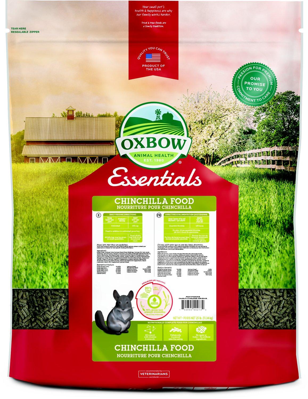 Oxbow Essentials Chinchilla Deluxe Chinchilla Food Image