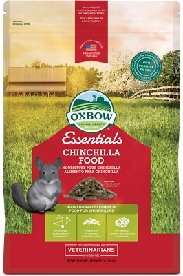 Oxbow Essentials Chinchilla Deluxe Chinchilla Food, 3-lb bag